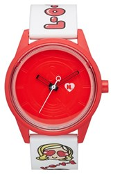 Women's Harajuku Lovers Resin Solar Watch 40Mm Love Limited Edition