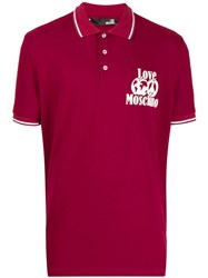 Love Moschino Classic Polo Shirt Red