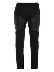 Givenchy Ricco Biker Skinny Fit Jeans