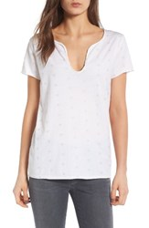 Zadig And Voltaire Women's Tunisien Embroidered Tee