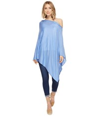 Echo Everyday Luxe Poncho Topper Rue Blue Women's Clothing