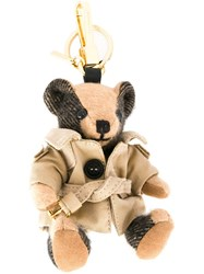 Burberry 'Trench Coat Bear' Keyring Brown