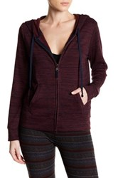 Threads For Thought Brynn Zip Hoodie Purple