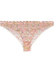 Gilda And Pearl Floral Lace Knickers 60