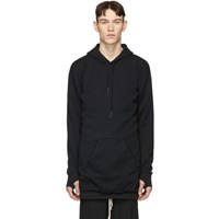 11 By Boris Bidjan Saberi Black 'Don't' Hoodie