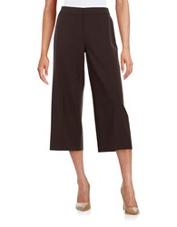 Kobi Halperin Cropped Dress Pants Brown