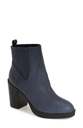 Sole Society 'Jett' Bootie Women Navy Leather