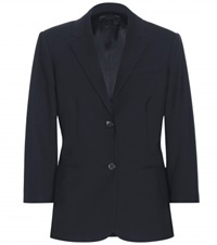 The Row Schoolboy Wool Blazer Blue