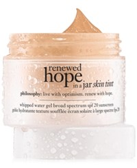 Philosophy Renewed Hope In A Jar Skin Tint 7.5