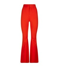 Givenchy Flared Crepe Trousers Female