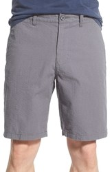 Men's 1901 'Thurston' Seersucker Shorts Grey Shade Seersucker Stripe