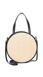 Kayu Carrie Round Crossbody Bag Navy