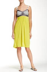 Vpl Convexity Breaker Midi Dress Yellow