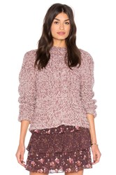 Ulla Johnson Francisca Pullover Sweater Mauve