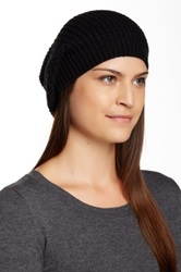 14Th And Union Waffle Slouchy Beanie Black