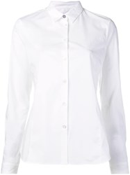 Paul Smith Ps By Printed Cuff Shirt White