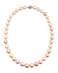 Belpearl 14K Pink Freshwater Pearl Necklace