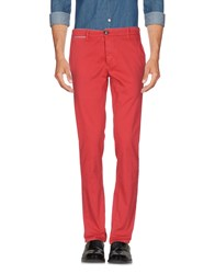 Rrd Trousers Casual Trousers Brick Red