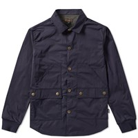 Barbour Alan Overshirt Blue