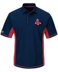 Majestic Men's Boston Red Sox Top Of The Inning Polo Navy