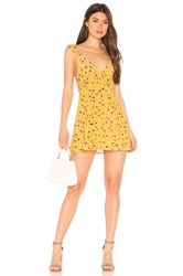 Privacy Please Ines Mini Dress Yellow