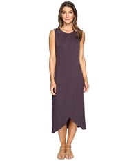 B Collection By Bobeau Meryl Jersey Knit Dress Stone Grey Women's Dress Gray