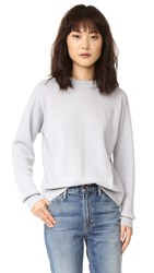 Belstaff Samantha Sweater Pale Grey Melange