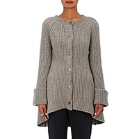 Co Women's Oversized A Line Cardigan Grey