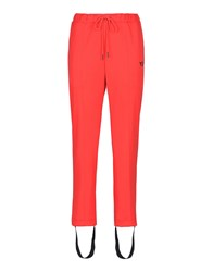 Y 3 Casual Pants Red