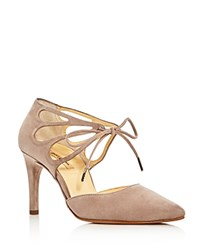 Paul Green Justeen Lace Up D'orsay Pumps Red