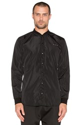 Publish Mono Corvus Button Down Black
