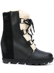 Sorel Suede Panel Lined Boots 60