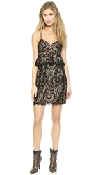 Nanette Lepore Venetian Lace Dress Black