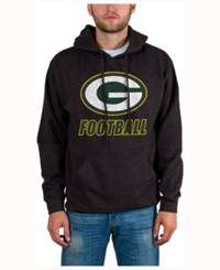Junk Food Men's Green Bay Packers Wing T Formation Hoodie Heather Charcoal