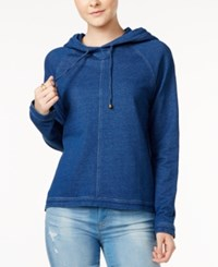 Tommy Hilfiger Pullover Hoodie Only At Macy's Blue Combo