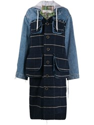 Natasha Zinko Denim Coat Blue