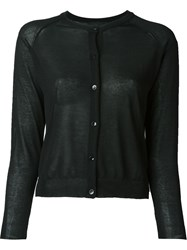 Simone Rocha Button Down Cardigan Black