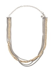 John Hardy Adwoa Aboah 18Kt Yellow Gold And Silver Classic Chain Metallic
