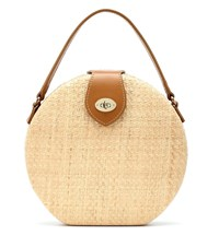 Kayu Wicker Shoulder Bag Neutrals