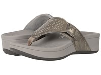 Vionic Capitola Pewter Sheep Women's Sandals