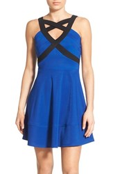 Women's Love Nickie Lew Cage Front Fit And Flare Dress