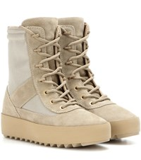 Yeezy Military Suede Boots Season 3 Beige