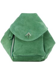 Manu Atelier Mini Fernweh Backpack Green