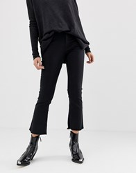 B.Young Kick Flare Jeans Black