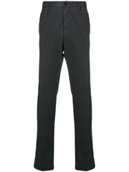Z Zegna Slim Fit Chinos Brown