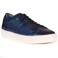 Oliver Sweeney Laine Leather Trainers Midnight