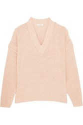 See By Chloe Cotton Blend Sweater Blush