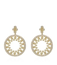 Boodles Circus Diamond Earrings Gold