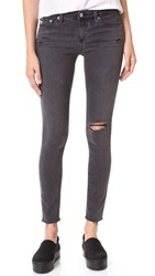 Ag Jeans The Legging Ankle 10 Years Worn Well Black