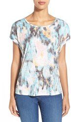 Women's Two By Vince Camuto 'Blurry Dreamland' Roll Sleeve Tee